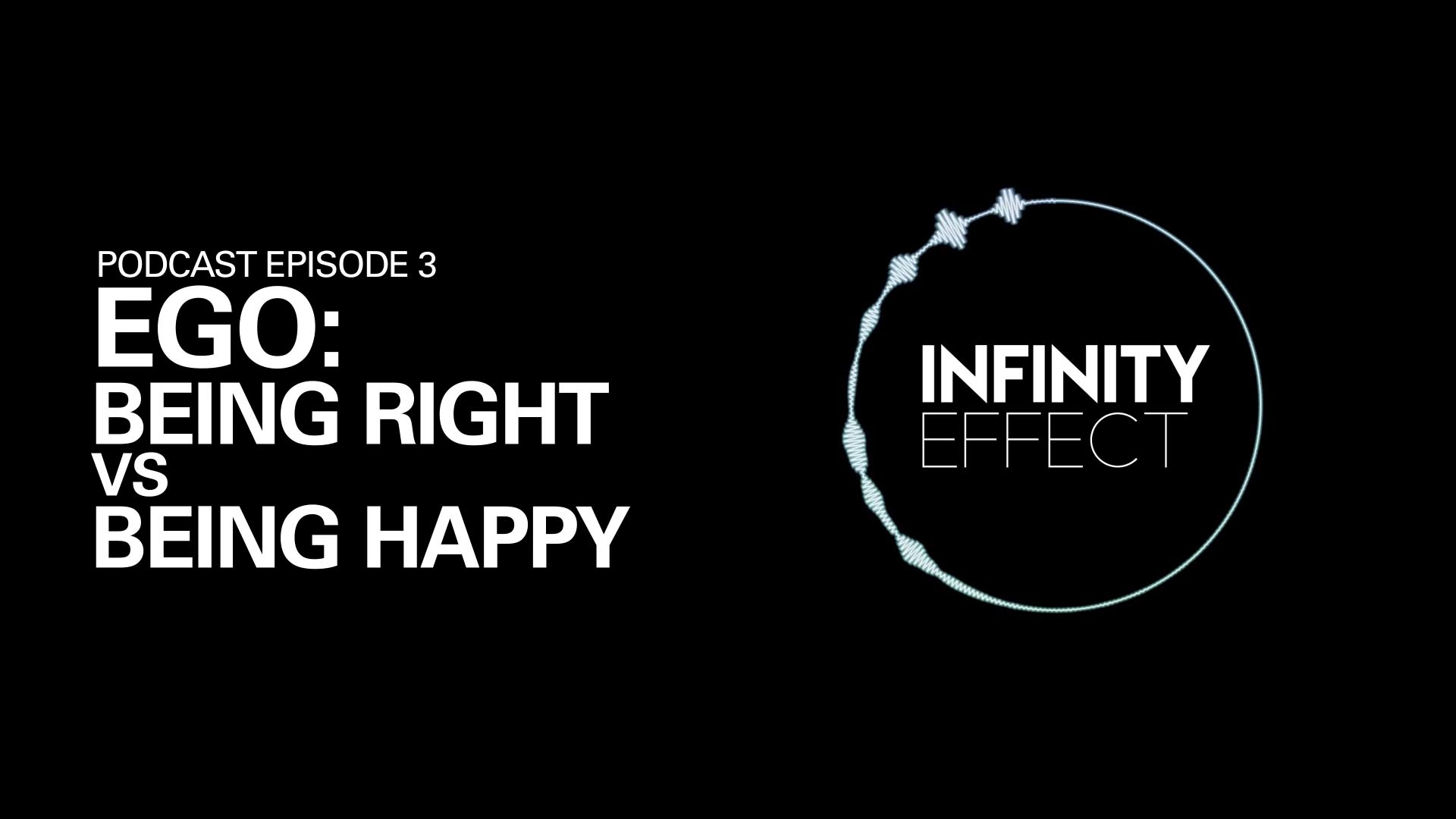Being right vs being happy feat