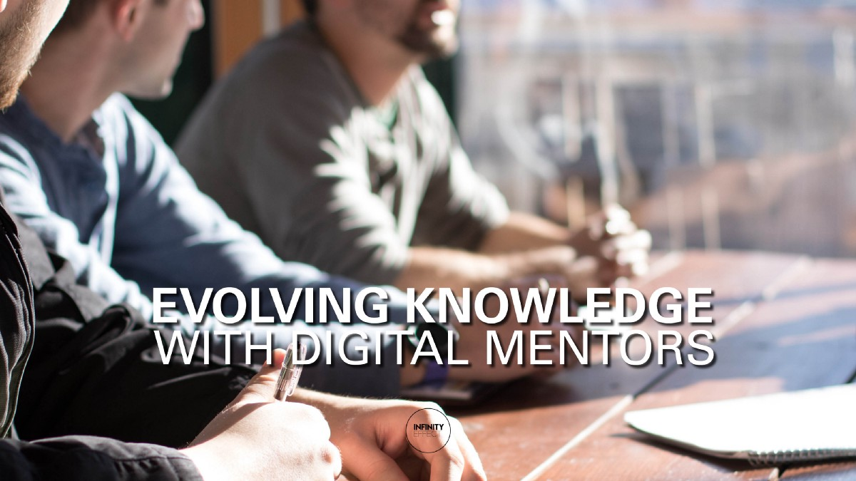 Evolving knowledge with digital mentors feat