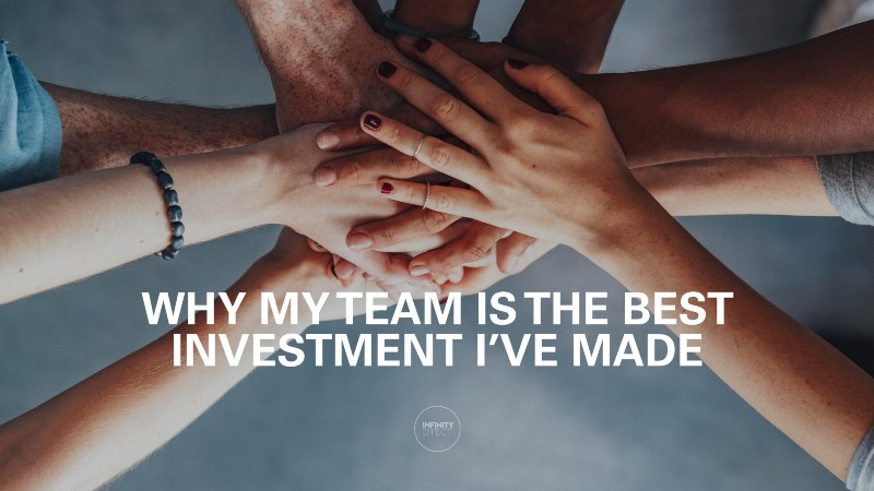 why my team is the best investment I've made feat